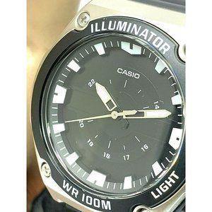 Casio Mens Watch MWC100H-1A Quartz Black Dial